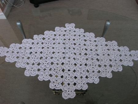 вязание крючком салфетки со схемами.